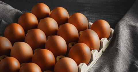 [닭대리] 참나무 연기로 훈연한, 닭대리의 훈제 계란