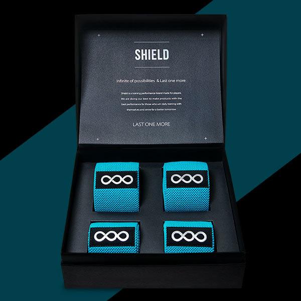 쉴드 Knee & Elbow Wrap Premium gift SET
