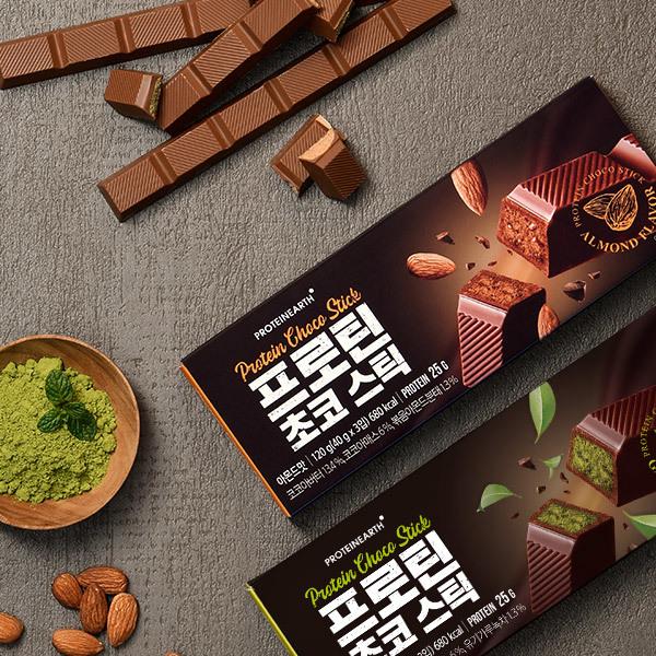 [프로틴어스] 단백질 UP! 프로틴 초코 스틱 49% 할인