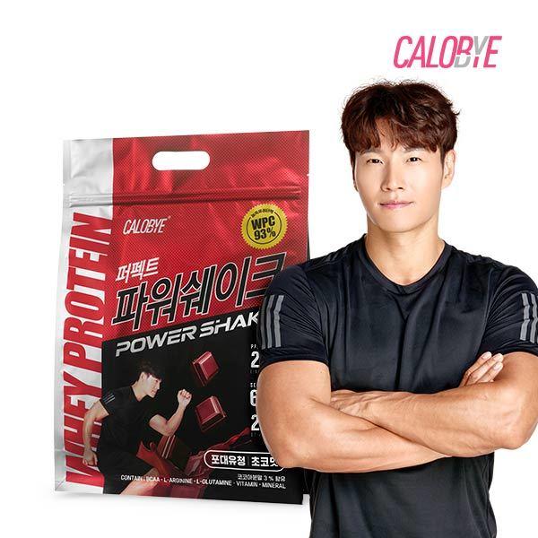 칼로바이 퍼펙트 파워쉐이크 단백질 포대유청 보충제 2kg